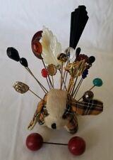 Lot of 20 Antique Vintage Hat Pins, Lapel Pins Pin Cusion