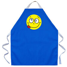 LA Imprints Apron for Kids Children Boys Girls  Silly Face