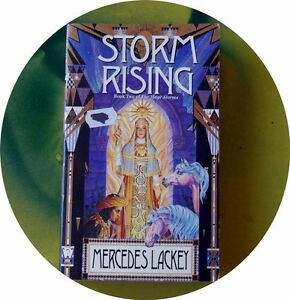 Storm Rising by Mercedes Lackey (Paperback, 1996) Mages Storm Book 2..vgc.