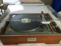 VTG STUDIO BENJAMIN MIRACORD ELAC 10H TURNTABLE RECORD PLAYER MADE IN GERMANY