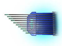 Wolfram Elektrode Türkis WIG DC-Schweißen Wolframnadel Stahl Edelstahl WR2 WR 2