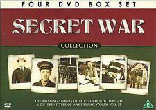 SECRET WAR COLLECTION - 4 DVD BOX SET - THE SAS ITALIAN JOB & MORE