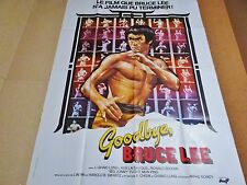 bruce lee   GOODBYE BRUCE LEE !  affiche cinema karate kung-fu