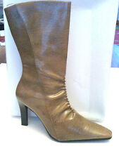 """BLU SHOES. LADIES STILETTO BOOT.""""WINTER TAUPE"""" UK7"""