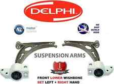 VW GOLF VI 2008 >ON 1.2 1.4 1.6 NEW FRONT LOWER  LH+RH WISHBONE ARMS SET