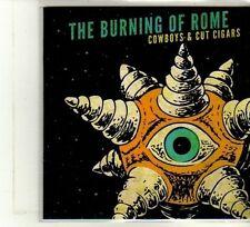 (DU370) The Burning Of Rome, Cowboys & Cut Cigars - 2012 DJ CD