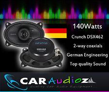 Crunch DSX462 15.2cmx10.2cm 2 Vías Coaxial Altavoces Para Coche A Medida,
