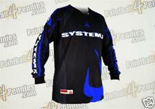 PAINTBALL  JERSEY ( NEW )   SYSTEM X     ( BLUE )