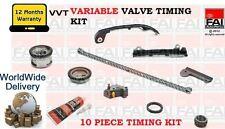 FOR NISSAN ALMERA 1.5 1.8 2002-> VVT ENGINE VARIABLE VALVE TIMING CHAIN FULL KIT
