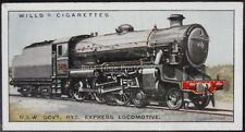 No.28 NSW GOVT RY EXPRESS LOCO - Railway Locomotives - Wills Ltd 1930