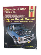 Haynes Publications 24065 Repair Manual Chevrolet & GMC Pick-ups 1988 thru 1998