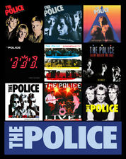 "THE POLICE album discography magnet (4.5"" x 3.5"") punk rock (sting andy stewart"