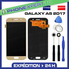 VITRE TACTILE + ECRAN LCD ORIGINAL SAMSUNG GALAXY A5 OR GOLD 2017 A520 + OUTIL