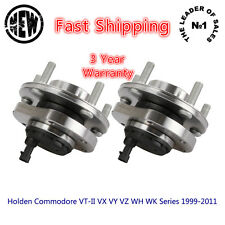 2 Pcs Front Wheel Bearing Hub Holden Commodore VT-II VX VY VZ WH WK Series ABS