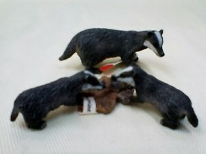 SCHLEICH Badgers Pack (14650 & 14651) **RETIRED**