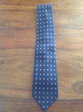 Sanseverino Napoli Blue Red Silk Tie Made in Italy