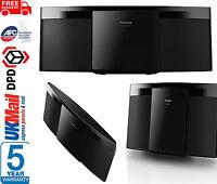 Panasonic SC-HC195EB-K Compact Micro Hi-Fi System Built In CD Player FM Radio