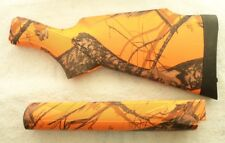 New Remington 750 742 7400 4 Mossy Oak Blaze Orange Camo Stock Set #1