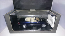 1:18 KYOSHO MERCEDES CLK 500 a209 Cabrio Blu Scuro Nuovo OVP
