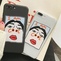 Cool Girl Phone Cover Fashion Back Case for iPhone 7 8 Plus X XR XS Max 11 Pro