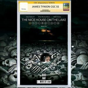 Nice House On The Lake 1 CGC SS 9.8 1st Print A Signed by James Tynion YOUCHOOSE