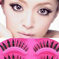 5 Pairs Makeup Handmade Natural Messy False Eyelashes Long Eye Lashes  Extension