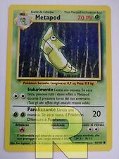 Metapod ® Set Base 54/102 ® Comune ® Pokemon ® Italiano ® EX