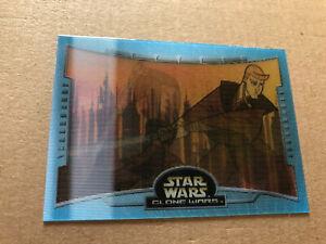 Topps Star Wars Clone Wars 2004 Battle Motion Card, B1