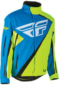 FLY RACING SNX PRO JACKET BLUE/HI-VIS 3XL