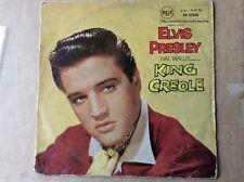 ELVIS PRESLEY - King Creole - UK COVER & AUSSIE LP  1958