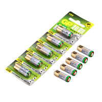 10 pcs GP A23 12V Battery 23AE 23A MN21 E23A K23A , Alkaline Battery 23A