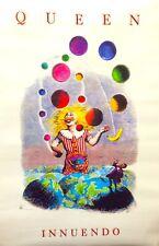 "QUEEN- Innuendo LP 1990 Promo Poster-18"" X 27""-Freddy Mercury/Brian May"
