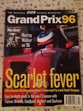 BBC Grand Prix 1996 Magazine. Scarlet fever. Preview of the 1996 Season.