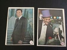1966 TOPPS BATMAN BAT LAFFS CARD 1 AND 55