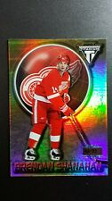 2001 BRENDAN SHANAHAN PRIVATE STOCK TITANIUM PREMIERE #48/99 RED WING