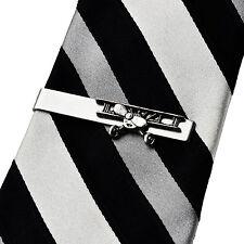 Biplane Tie Clip - Aviation - Business Gift - Handmade - Gift Box
