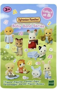 SYLVANIAN FAMILIES CALICO CRITTERS BABY BAND SERIES BLIND BAG RANDOM DOLL FIGURE