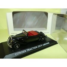 CITROEN TRACTION 22CV ROADSTER Noir NOREV 1:43