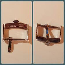 Chiusura fibbia Rolex in acciaio, steel buckle clasp hebilla 16mm 18mm 20mm