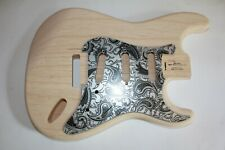 TOP 1,6 Kg TMG Body Korpus US swamp Ash Sumpfesche 2 teilig Strat Stratocaster