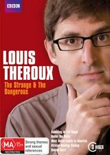 Louis Theroux The Strange and The Dangerous New 3xDVDs R4
