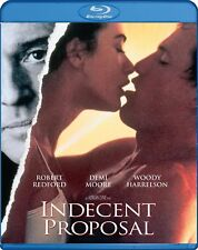 Blu Ray INDECENT PROPOSAL. Robert Redford, Demi Moore. Region free. New sealed.