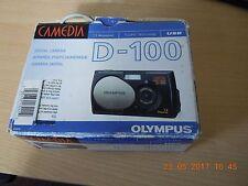 Olympus CAMEDIA 100 1.3MP appareil photo numérique-Argent