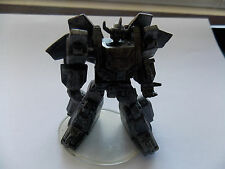 Takara Transformer G1 SCF PVC Act 8 Dai Atlas in pewter with stand.