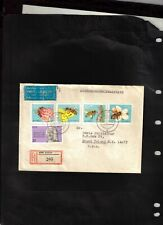 GERMANY DDR 1990 registered Cover sent from Gehren to U.S.,