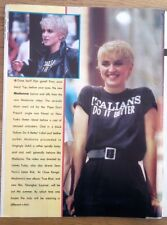 MADONNA 'in 1986' magazine PHOTO/Poster/clipping 11x8 inches