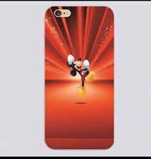 Red Disney Mickey Mouse Burst Case Cover For iPhone 5 Or 5s