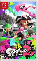 Nintendo Switch Splatoon 2 Japan Import Free Shipping New Game Only