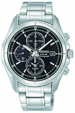 Seiko SSC005 SSC005P1 Mens Solar Alarm Chronograph Watch WR100m NEW RRP $525.00