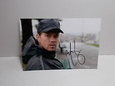 """MARK WAHLBERG SIGNED PHOTOGRAPH 6"""" X 4"""""""
